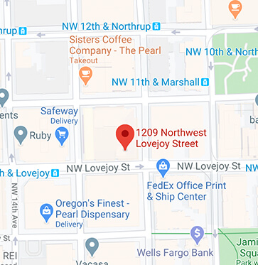 Pearl District Dental Office Map